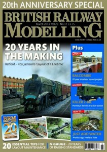 Roy Jackson's Retford featured in BRM 20th Anniversary Special